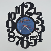 Vinyl Record Album Wall Clock (artist is Elvis)
