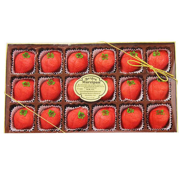 Bergen Marzipan Strawberry Shaped Marzipan 8 oz. (226 g)