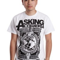 Asking Alexandria - New World White - T-Shirt