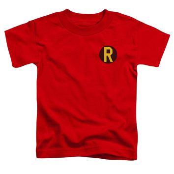 Dc - Robin Logo Short Sleeve Toddler Tee