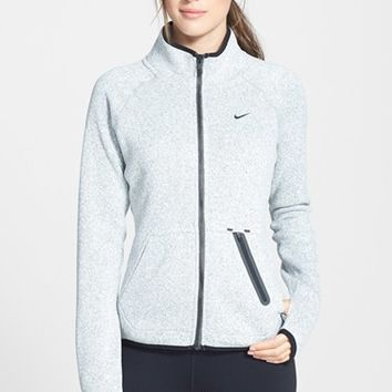 Women's Nike 'Hypernatural' Full Zip Knit Cardigan,