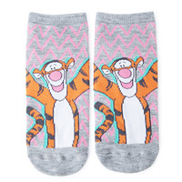 Tigger Chevron Ankle Socks