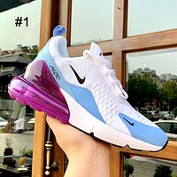 NIKE AIR MAX 270 tide brand female half palm cushion sports shoes #1