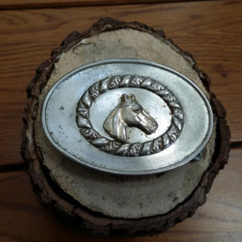 Vintage Metal Horse Cowboy Western Belt Buckle Guy Best Man Groomsmen Fathers Day Gift Fashion Style Accessory