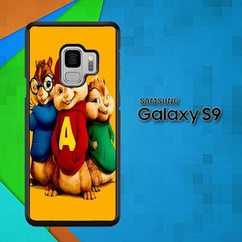 Alvin And The Chipmunks Character V 2074 Samsung Galaxy S9 Case