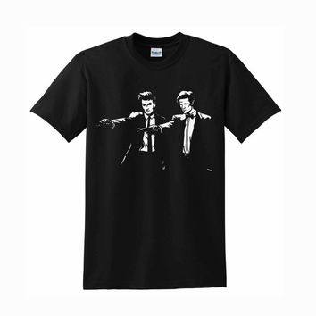 Doctor Who Pulp Fiction For T-Shirt Unisex Aduls size S-2XL