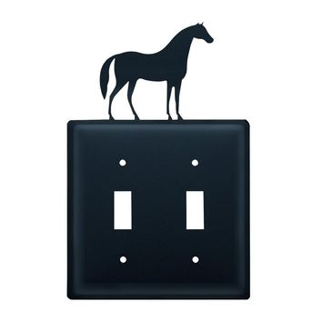 Horse - Double Switch Cover