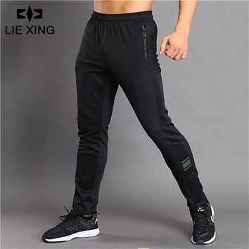 Men Fitness Workout Breathable Long Pants