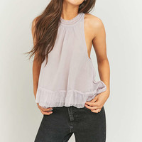 Kimchi Blue Lillianna Mock Neck Grey Cami - Urban Outfitters