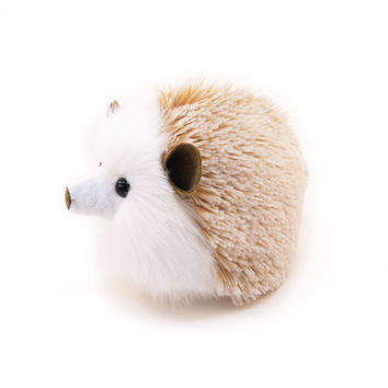 Mimi the Tan Hedgehog Stuffed Animal Plush Toy