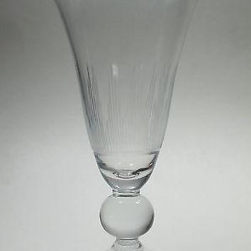 Val st Lambert Hand Cut glass beverage  goblet Sylvia