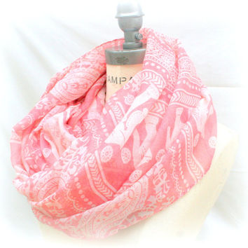 Best selling shops items, Elephant print Scarf, Gift for women gifts, teacher gift, paisley print soft Scarfs,  PiYOYO