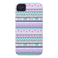 Bright Aztec Andes Pattern iPhone 4 Case from Zazzle.com
