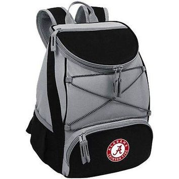 PICN-633001750040-NCAA Alabama Crimson Tide PTX Insulated Backpack Cooler, Blac