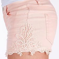 Tinseltown Crochet Stretch Short - Women's Shorts | Buckle