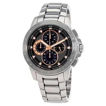 Michael Kors Ryker Chronograph Black Dial Mens Watch MK8528