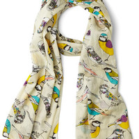 Comely Chirps Scarf