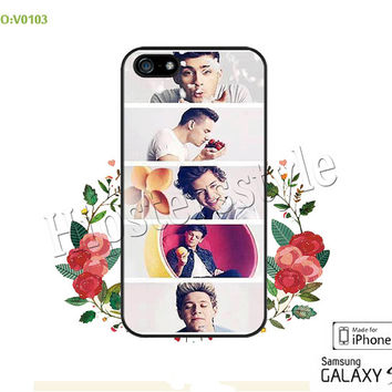 1D Phone Cases, iPhone 5/5S Case, iPhone 5C Case, iPhone 4/4S Case, one direction Galaxy S3 S4 S5 Note 2 Note 3 Case for iPhone-B0103