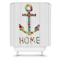 Deny Designs Bianca Green You Make Me Home Fabric Shower Curtain (Grey)