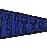 XXL Extra Large Chenille Pennant Patch 26.5cm