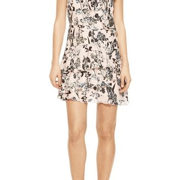 Parker Dorthy Floral Silk Dress | Nordstrom