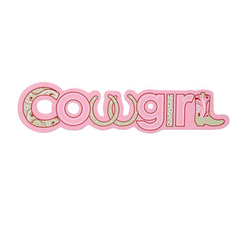 Trail of Painted Ponies Cowgirl Wall Plaque