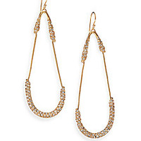 Alexis Bittar - Miss Havisham Mosaic Crystal Snake Chain Teardrop Earrings - Saks Fifth Avenue Mobile