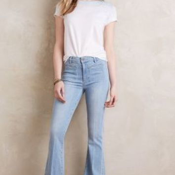 Paige Vintage High-Rise Bell Canyon Jeans in Samira Size: