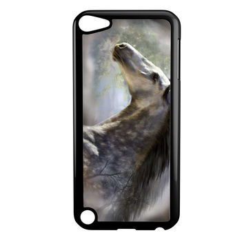 Silver Horse Edited Ipod 5 Case
