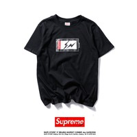 Cheap Women's and men's supreme t shirt for sale 501965868-0130