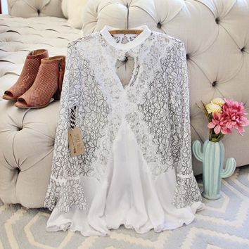 Ancient Tales Tunic in White