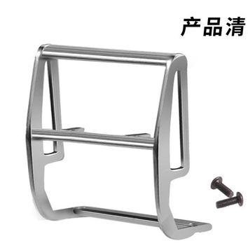 DJ TRX-4 Ford Bronco All-metal front bumper cowshed bumper which light can be installed