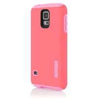 The Pink DualPro® Hard-Shell Case with Impact Absorbing Core for Samsung Galaxy S5
