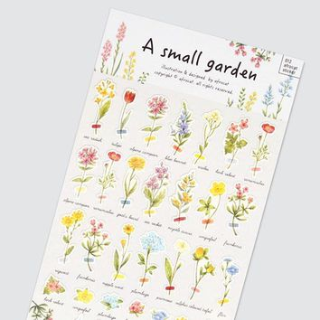 Small Garden Deco Sticker