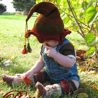 Baby, Toddler, Childrens Elf Hat PATTERN