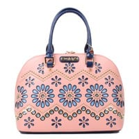 POE FLORAL LASER CUT DOME BAG - NEW ARRIVALS