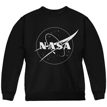 NASA Outline Logo Youth Sweatshirt