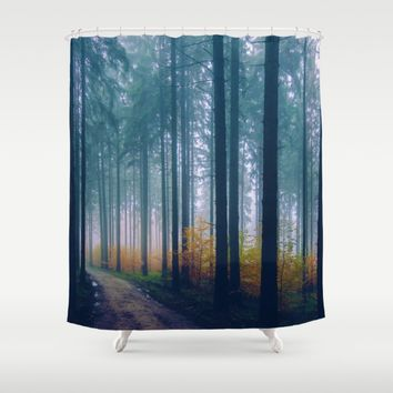 Go Your Own Way Shower Curtain by Gallery One
