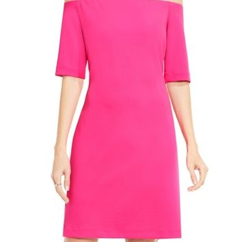 Vince Camuto Off the Shoulder Knit Dress | Nordstrom