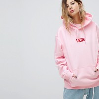 Vans Exclusive To Asos Oversized Hoodie In Pink at asos.com