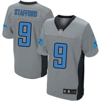 KUYOU Detroit Lions Jersey - Grey Shadow Game Jerseys - Several Players