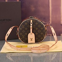 Louis Vuitton LV Women Fashion Leather Crossbody Satchel Shoulder Bag