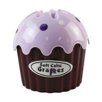 Cupcake Tissue Holder and Dispenser Cover (Purple)
