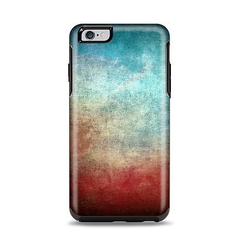 The Faded Grunge Color Surface Extract Apple iPhone 6 Plus Otterbox Symmetry Case Skin Set