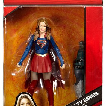 "Dc Multiverse SUPERGIRL 6"" Action Figure Dc Comics BAF 52 Doomsday"