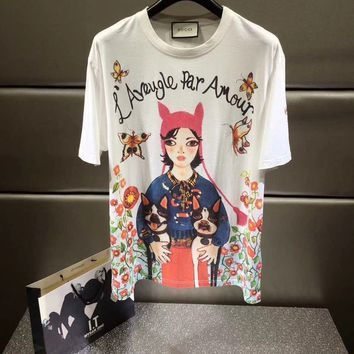 T-shirt Graphics GUCCI Unskilled Worker  13