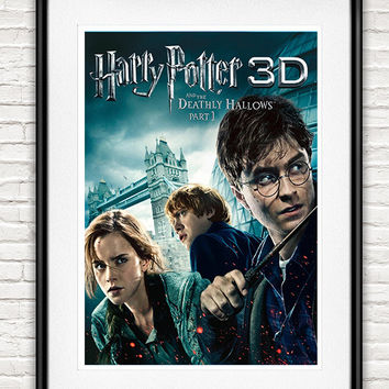 Harry Potter 7 3D Posters