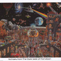 Tom Masse Echoes from the Dark Side of the Moon Poster 22x32