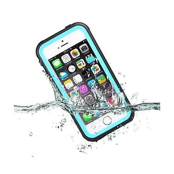 Waterproof Case For Apple iPhone 5/5S/SE Durable Shockproof Dirt Snow Proof Phone Cases Outdoor Cover Fundas w/Retail Package