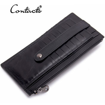 Men Leather Stylish Casual Multi-function Wallet [9338145159]